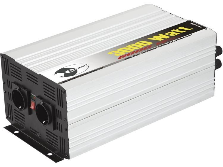 Omvormer e-ast HPL 3000-24 3000 W 24 V-DC 24 V-DC (22 28 V) Schroefklemmen Geaarde contactdoos