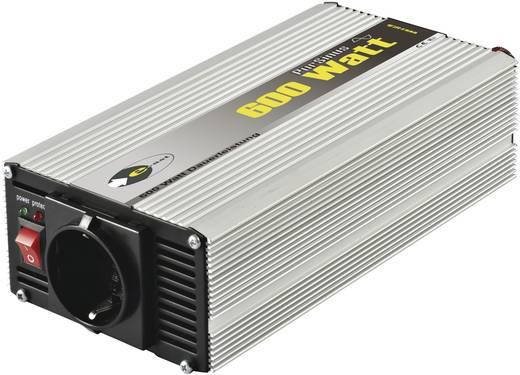 e-ast CLS 600-12 Omvormer 600 W 12 V/DC 12 V/DC (11 - 15 V) Schroefklemmen Randaarde contactdoos