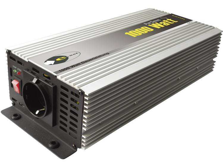Omvormer e-ast HighPowerSinus HPLS 1000-12 1000 W 12 V-DC 12 V= (11 15 V) Schroefklemmen Geaarde con