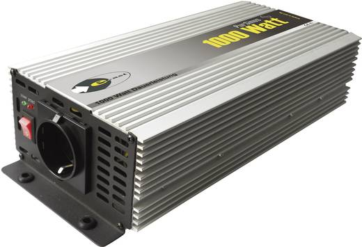 e-ast HighPowerSinus HPLS 1000-24 Omvormer 1000 W 24 V/DC 24 V= (22 - 28 V) Schroefklemmen Geaarde stekkerdoos