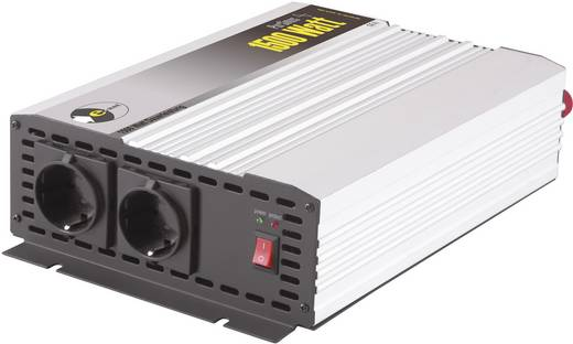 e-ast HighPowerSinus HPLS 1500-12 Omvormer 1500 W 12 V/DC 12 V= (11 - 15 V) Schroefklemmen Geaarde stekkerdoos