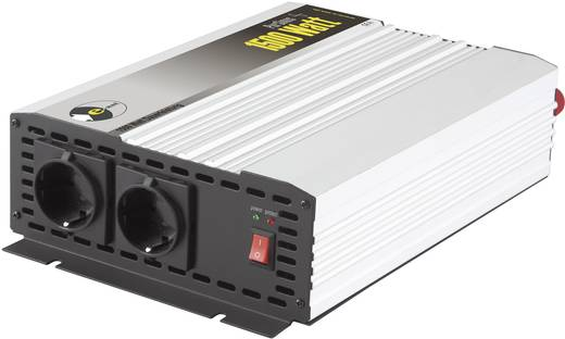 e-ast HighPowerSinus HPLS 1500-24 Omvormer 1500 W 24 V/DC 24 V= (22 - 28 V) Schroefklemmen Geaarde stekkerdoos