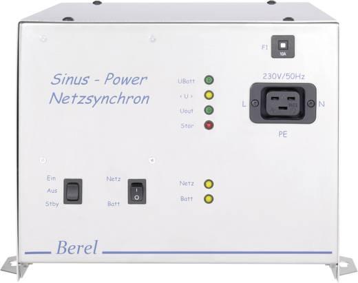 Berel NUS2500/48/TI Omvormer 2500 W 48 V/DC 48 V/DC UPS-functie, Netwerksynchronisatie Schroefklemmen, Europa-stekker-contactdoos AC Europa-stekker