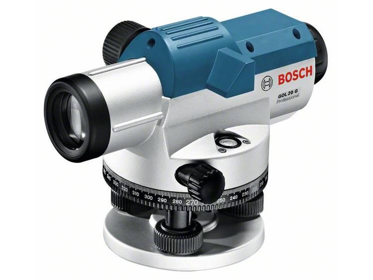 Bosch Professional GOL 20 G Optisch nivelleerinstrument Reikwijdte (max.): 60 m Optische vergroting (max.): 20 x kopen