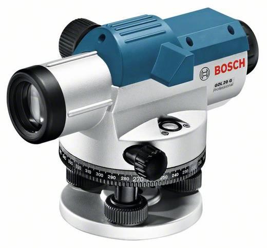 Bosch Professional GOL 20 G Optisch nivelleerinstrument Reikwijdte (max.): 60 m Optische vergroting (max.): 20 x Kalibr