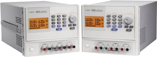 Labvoeding, regelbaar Keysight Technologies U8031A 0 - 30 V/DC 0 - 6 A 375 W Aantal uitgangen 3 x