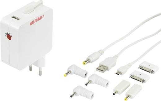 Laptop netvoeding VOLTCRAFT UTPS-40 40 W 5 V/DC, 9 V/DC, 10.5 V/DC, 12 V/DC, 15 V/DC, 19 V/DC 3 A