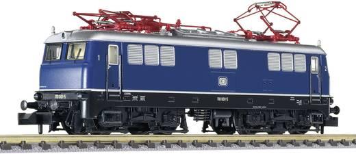 N elektrische locomotief BR 110 (BR 110 001-5) van de DB
