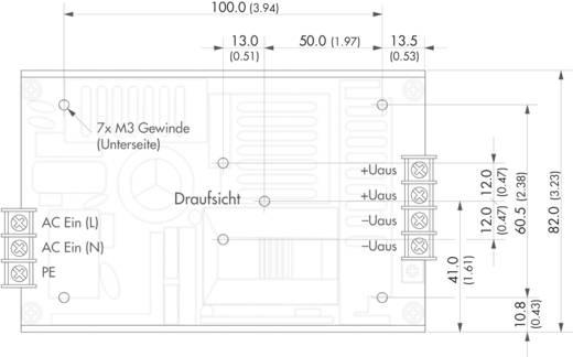 TracoPower TXH 120-COV AC/DC inbouwnetvoeding