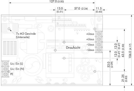 TracoPower TXH 240-COV AC/DC inbouwnetvoeding