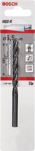 Bosch Accessories 2608596798 HSS Metaal-spiraalboor 6.5 mm Gezamenlijke lengte 101 mm rollenwals DIN 338 Cilinderschac