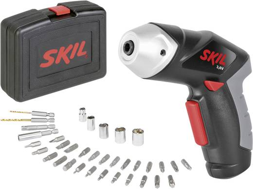 SKIL 2436AC Accuschroevendraaier + 35-delige accessoire-set