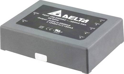 Delta Electronics AA30T050312A AC/DC printnetvoeding 12 V 4 A 30 W