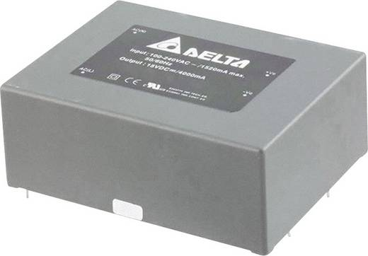Delta Electronics AA60S1200A AC/DC printnetvoeding 12 V 5 A 60 W