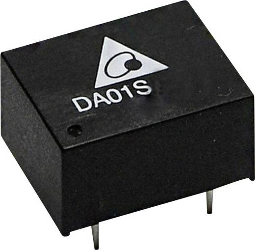 Delta Electronics DA01S1215A DC/DC-converter, print 15 V/DC 67 mA 1 W Aantal uitgangen: 1 x