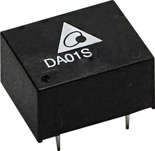 Delta Electronics DC/DC-converter, print 9 V/DC 110 mA 1 W Aantal uitgangen: 1 x