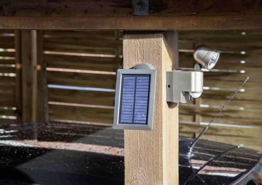 Solarspot met bewegingsmelder 3 W Koud-wit GEV 014817 LPL 14817 Champagne