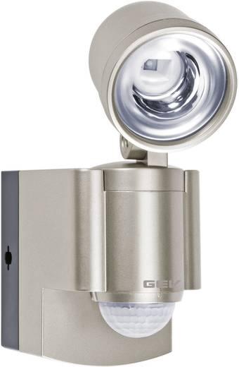 GEV LLL 14800 014800 LED-buitenschijnwerper met bewegingsmelder 3 W Neutraal wit Champagne