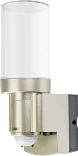 GEV LPL 14831 014831 Solar wandlamp met bewegingsmelder 3 W Koud-wit RVS