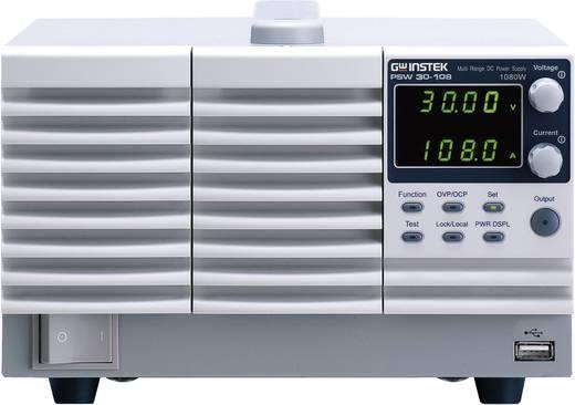 GW Instek PSW30-108 Labvoeding, regelbaar 0 - 30 V/DC 0 - 108 A 1080 W Aantal uitgangen 1 x