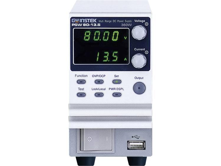 GW Instek PSW80 13.5 Labvoeding regelbaar 0 80 V DC 0 13 A 360 W Aantal uit