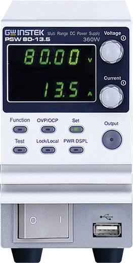 GW Instek PSW80-13.5 Labvoeding, regelbaar 0 - 80 V/DC 0 - 13 A 360 W Aantal uitgangen 1 x