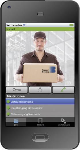 myintercom myi0002 Buitenunit voor WiFi deurbel met video LAN 1 gezinswoning RVS