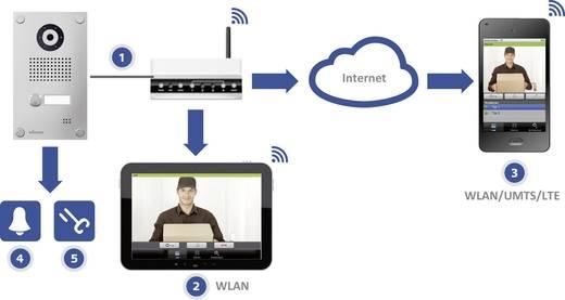 myintercom myi0002 Buitenunit voor WiFi deurbel met video LAN 1 gezinswoning