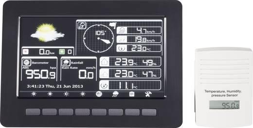 Digitaal draadloos weerstation Professioneel weerstation met kleurenscherm en WiFi Voorspelling voor 12 tot 24 uur