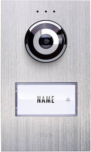 m-e modern-electronics VDV 610 compact Buitenunit voor Video-deurintercom Kabelgebonden 1 gezinswoning RVS