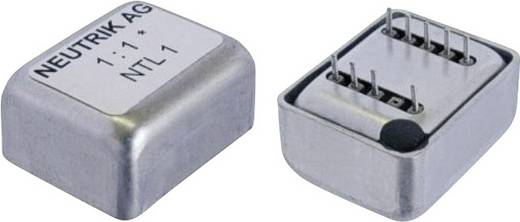 Audiotransformatoren Impedantie: 600 Ω Neutrik Inhoud: 1 stuks