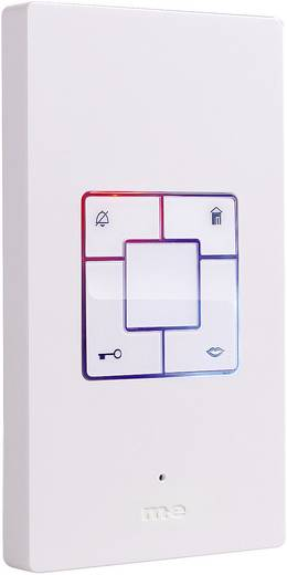 m-e modern-electronics Vistus AD 400 Binnenunit voor Deurintercom Kabelgebonden Wit