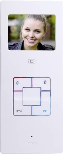 m-e modern-electronics Vistus VD603 Binnenunit voor Video-deurintercom Kabelgebonden Zilver, Wit