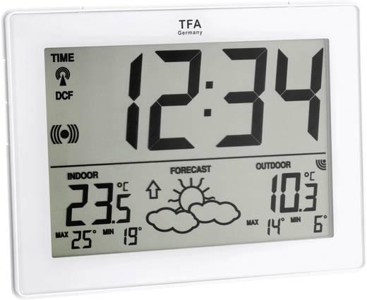 Digitaal draadloos weerstation TFA IT draadloos weerstation wit Voorspelling voor 12 tot 24 uur