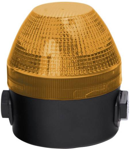 Auer Signalgeräte NFS Signaallamp LED Oranje Oranje Continu licht, Knipperlicht 230 V/AC