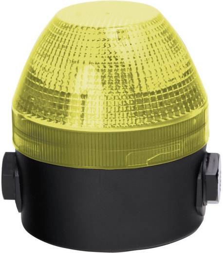 Auer Signalgeräte NFS-HP Signaallamp LED Geel Geel Flitslicht 24 V/DC, 48 V/DC