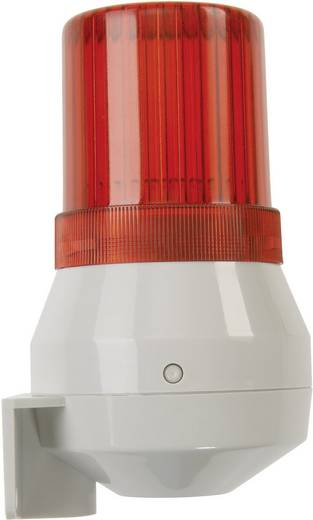 Auer Signalgeräte KDL Combi-signaalgever Rood Continu licht, Enkele toon 24 V/DC