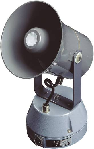 Sirene Auer Signalgeräte EHS-D Continu geluid 12 V/DC, 24 V/DC 118 dB