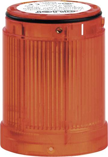 Auer Signalgeräte 751001405 Signaalzuilelement LED Oranje Continu licht 12 V/DC, 12 V/AC, 24 V/DC, 24 V/AC