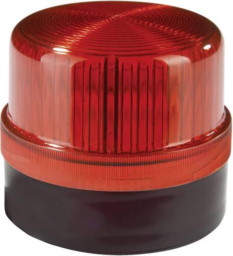 Auer Signalgeräte DLG Signaallamp LED Rood Rood Continu licht 24 V/DC, 24 V/AC