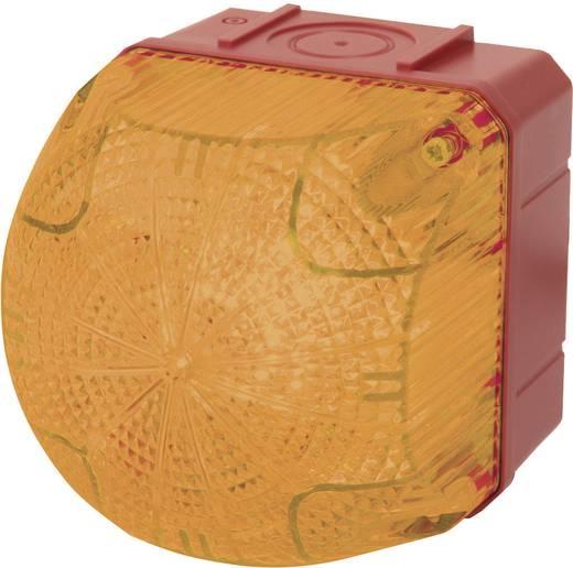 Auer Signalgeräte QDS Signaallamp LED Oranje Oranje Continu licht, Knipperlicht 24 V/DC, 24 V/AC