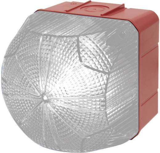 Auer Signalgeräte QDS Signaallamp LED Helder Wit Continu licht, Knipperlicht 24 V/DC, 24 V/AC