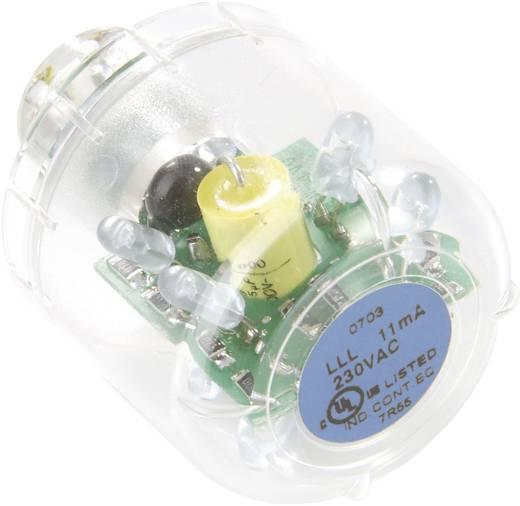 Auer Signalgeräte LLL Signaalgever lamp LED Blauw Continu licht Geschikt voor serie (signaaltechniek) Signaalzuil mo