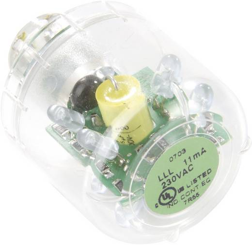 Auer Signalgeräte LLL Signaalgever lamp LED Groen Continu licht Geschikt voor serie (signaaltechniek) Signaalzuil mo