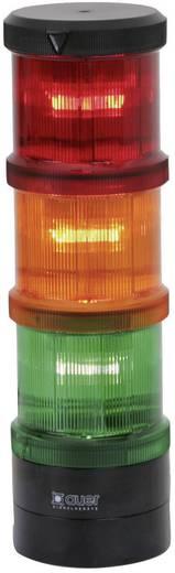 Auer Signalgeräte 900002900 Signaalzuilelement Rood Continu licht 12 V/DC, 12 V/AC, 24 V/DC, 24 V/AC, 48 V/DC, 48 V/AC, 110 V/AC, 230 V/AC