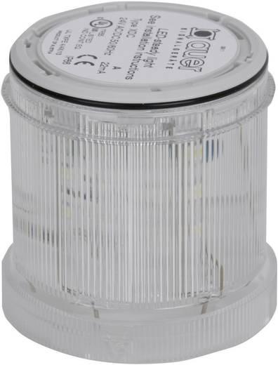 Auer Signalgeräte 900004900 Signaalzuilelement Helder Continu licht 12 V/DC, 12 V/AC, 24 V/DC, 24 V/AC, 48 V/DC, 48 V/AC, 110 V/AC, 230 V/AC