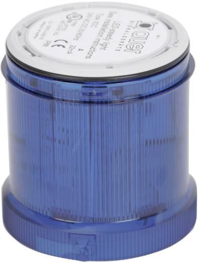 Auer Signalgeräte 900005900 Signaalzuilelement Blauw Continu licht 12 V/DC, 12 V/AC, 24 V/DC, 24 V/AC, 48 V/DC, 48 V/AC