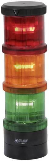 Auer Signalgeräte 900012405 Signaalzuilelement Rood Continu licht 24 V/DC, 24 V/AC