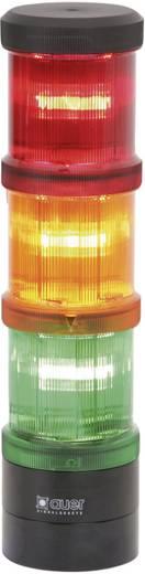 Auer Signalgeräte 901002900 Signaalzuilelement Rood Continu licht 12 V/DC, 12 V/AC, 24 V/DC, 24 V/AC, 48 V/DC, 48 V/AC,
