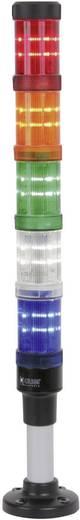 Auer Signalgeräte 902004900 Signaalzuilelement Wit Continu licht 12 V/DC, 12 V/AC, 24 V/DC, 24 V/AC, 48 V/DC, 48 V/AC,